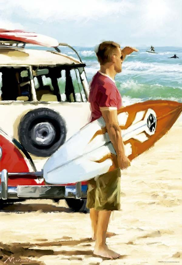 Surfer - 500pc jigsaw puzzle