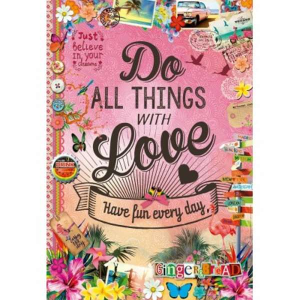Do All Things With Love - 500pc jigsaw puzzle