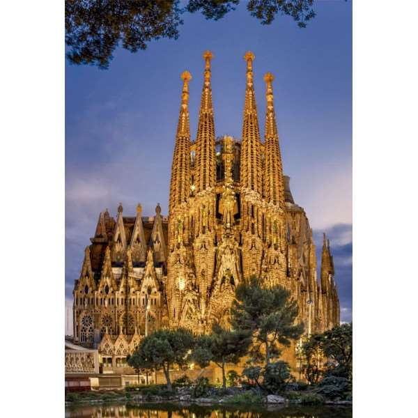 Family Sagrada - 1000pc jigsaw puzzle