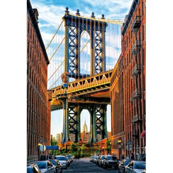 Manhattan Bridge - New York - 1000pc jigsaw puzzle