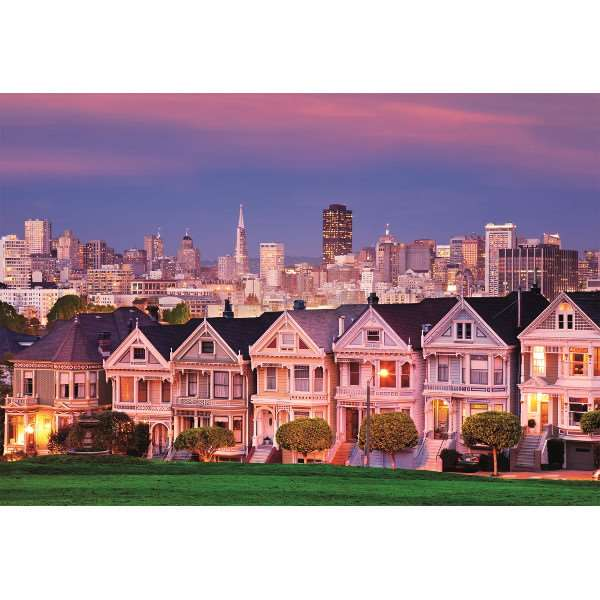 The Painted Ladies - 1500pc jigsaw puzzle