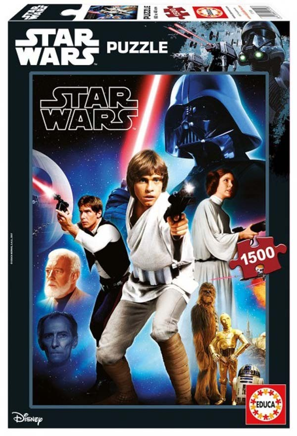Star Wars - EP IV - 1500pc jigsaw puzzle