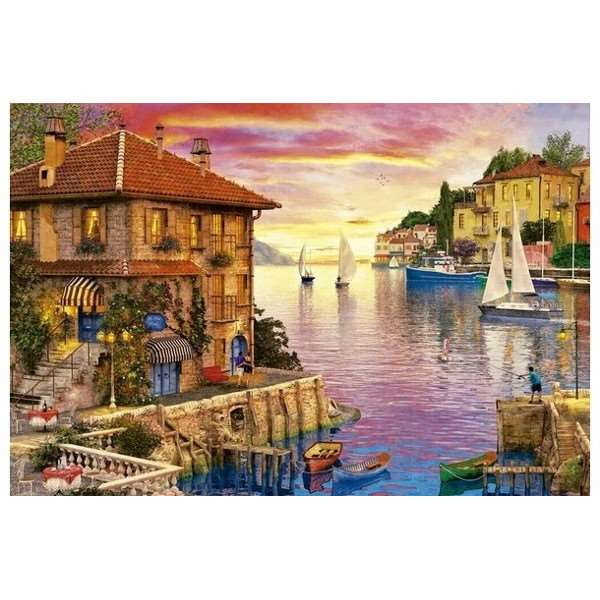 The Mediterranean Harbour - 5000pc jigsaw puzzle
