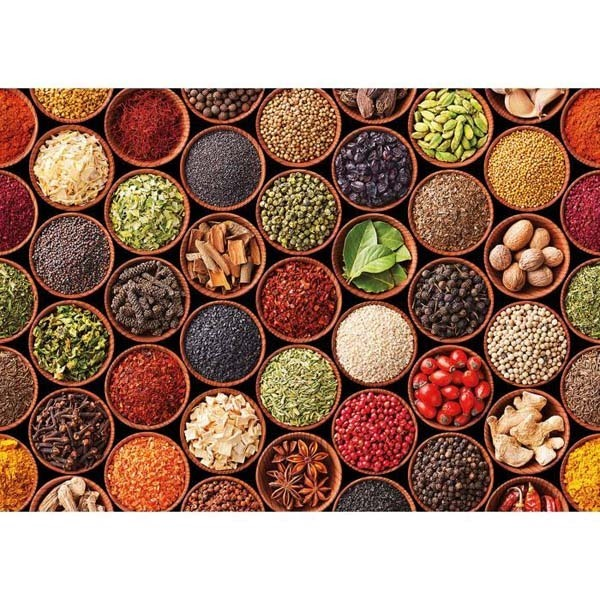 Herbs and Spices - 1500pc jigsaw puzzle