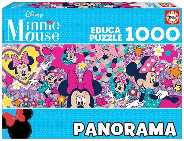 Minnie Mouse - Panoramic - 1000pc jigsaw puzzle