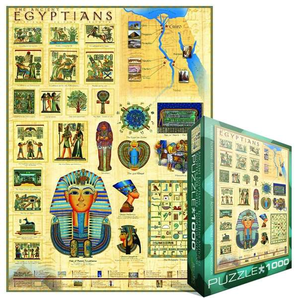 Ancient Egyptians jigsaw puzzle