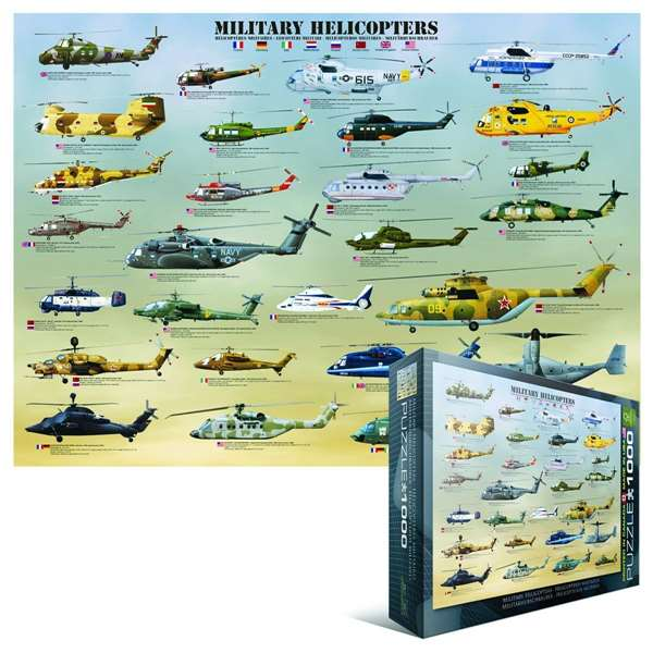Military Helicopters jigsaw puzzle