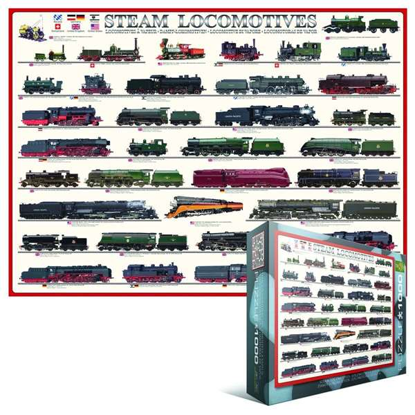 Steam Locomotives jigsaw puzzle