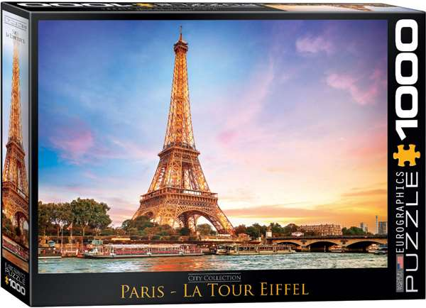 Paris - Eiffel Tower - 1000pc jigsaw puzzle