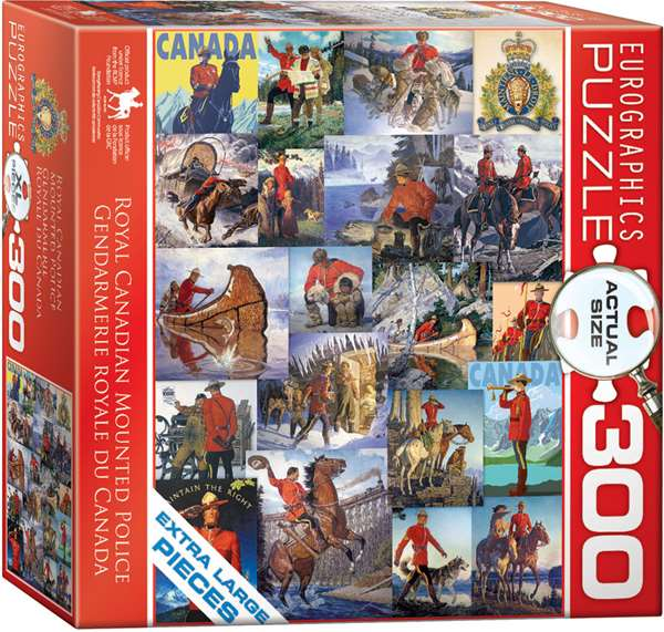 Royal Canadian Mounted Police - 300XL Piece jigsaw puzzle