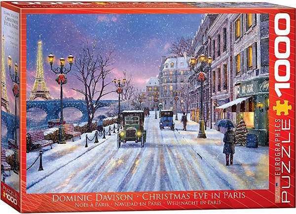 Christmas Eve in Paris - 1000pc jigsaw puzzle