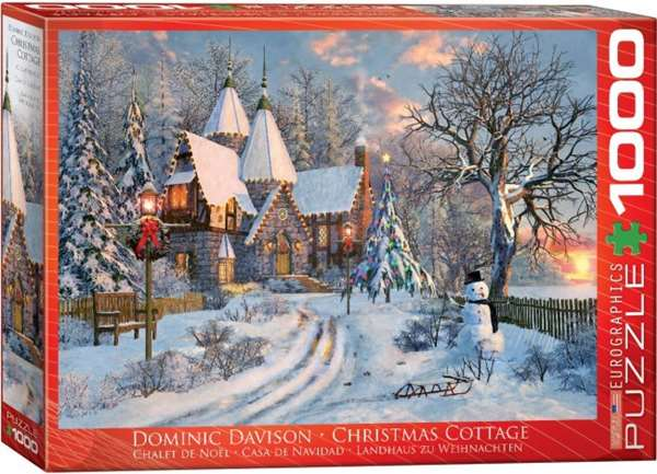 Christmas Cottage - 1000pc jigsaw puzzle