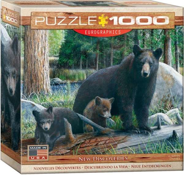New Discoveries - 1000pc jigsaw puzzle