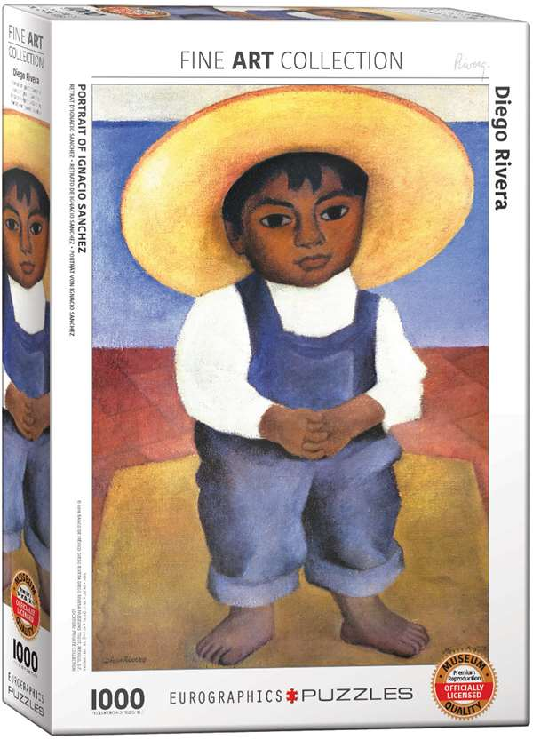 Diego Rivera - Portrait of Ignacio Sanchez jigsaw puzzle