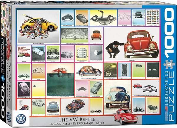 VW Beetle - We Have Done Things - 1000pc jigsaw puzzle