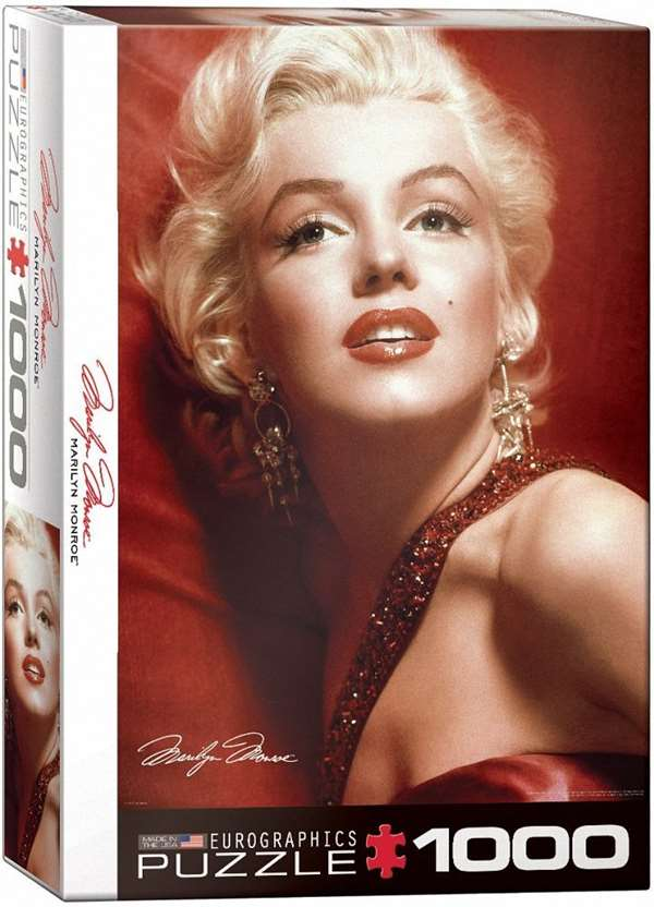 Marilyn Monroe - Slam Shaw - 1000pc jigsaw puzzle