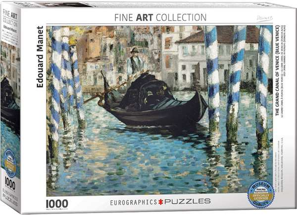The Grand Canal of Venice - Edouard Manet jigsaw puzzle
