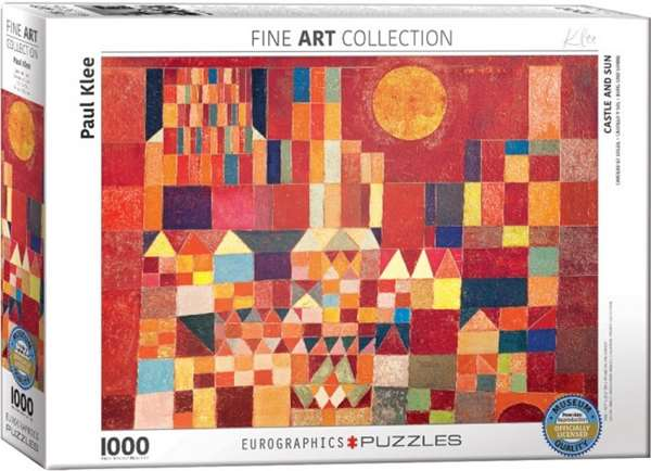 Castle and Sun - Paul Klee - 1000pc jigsaw puzzle