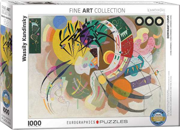 Dominant Curve - Wassily Kandinsky - 1000pc jigsaw puzzle