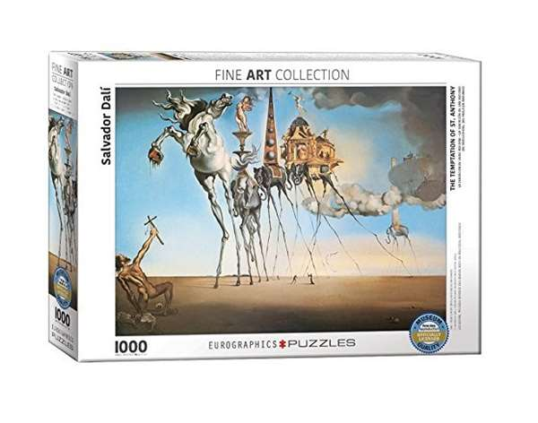 The Temptation of St Anthony - Salvador Dali - 1000pc jigsaw puzzle