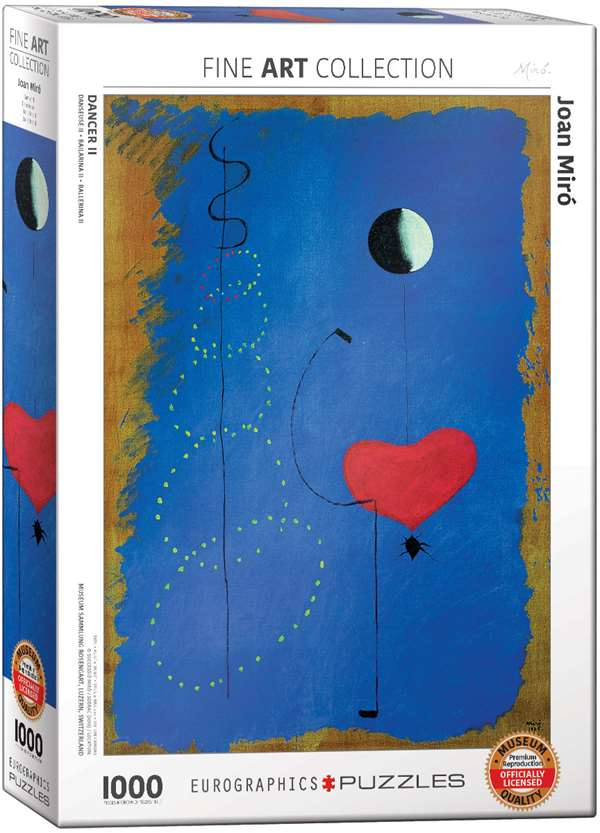 Dancer II - Joan Miro - 1000pc jigsaw puzzle