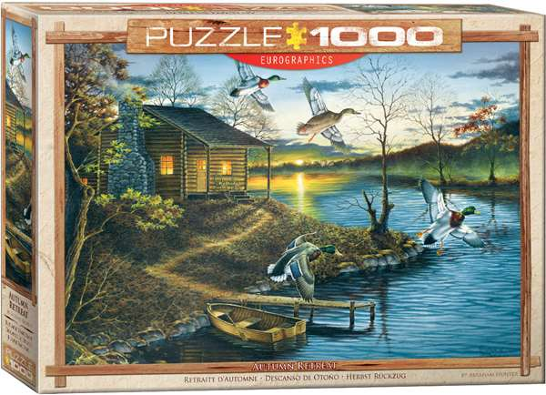 Autumn Retreat - Abraham Hunter - 1000pc jigsaw puzzle