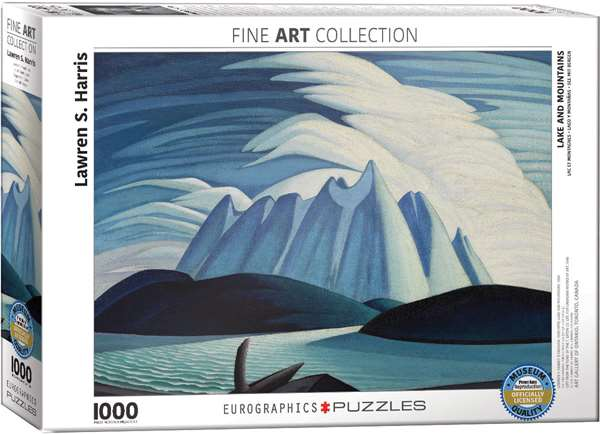 Lakes and Mountains - 1000pc jigsaw puzzle