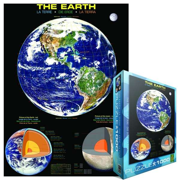 The Earth jigsaw puzzle