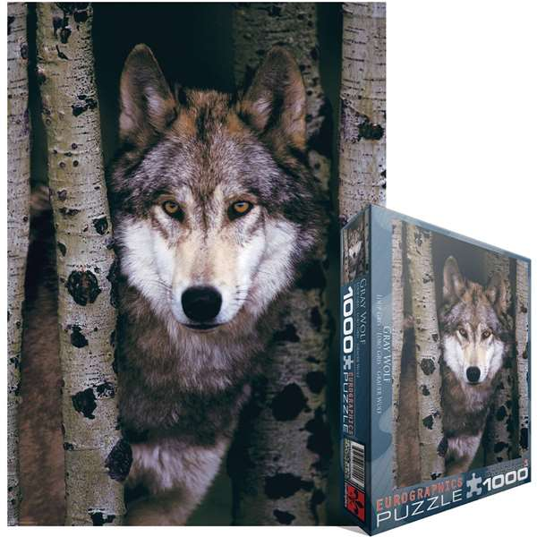 Gray Wolf jigsaw puzzle
