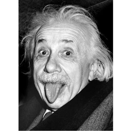 Einstein Tongue jigsaw puzzle
