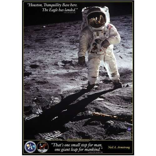 Walk On The Moon jigsaw puzzle