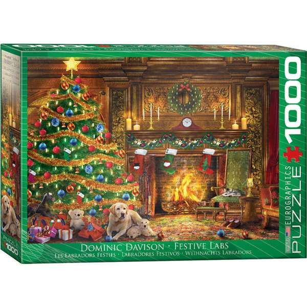 Festive Labs - 1000pc jigsaw puzzle