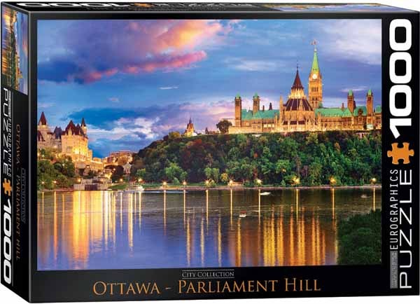 Ottawa - Parliament Hill - 1000pc jigsaw puzzle