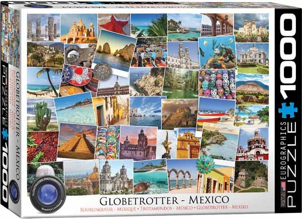 Globetrotter - Mexico - 1000pc jigsaw puzzle