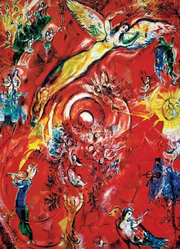 Marc Chagall - The Triumph of Music - 1000pc jigsaw puzzle