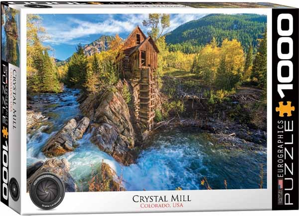 Crystal Mill - Colorado - 1000pc Jigsaw Puzzle from Jigsaw Puzzles