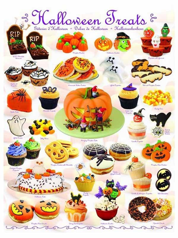 Halloween Treats - 1000pc jigsaw puzzle