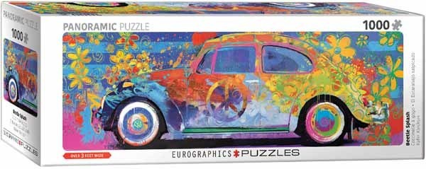 Beetle Splash - Panormic - 1000pc jigsaw puzzle