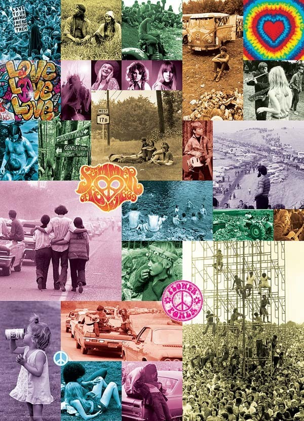 60s Love Collection - 1000pc jigsaw puzzle