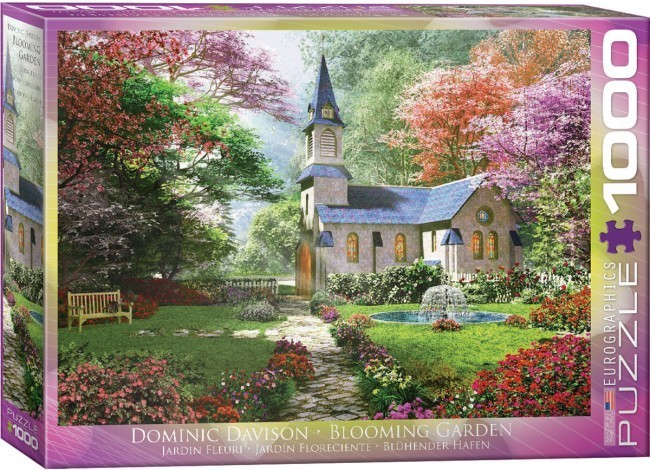 Blooming Garden - 1000pc jigsaw puzzle