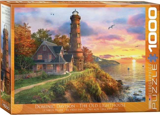 The Old Lighthouse - 1000pc jigsaw puzzle