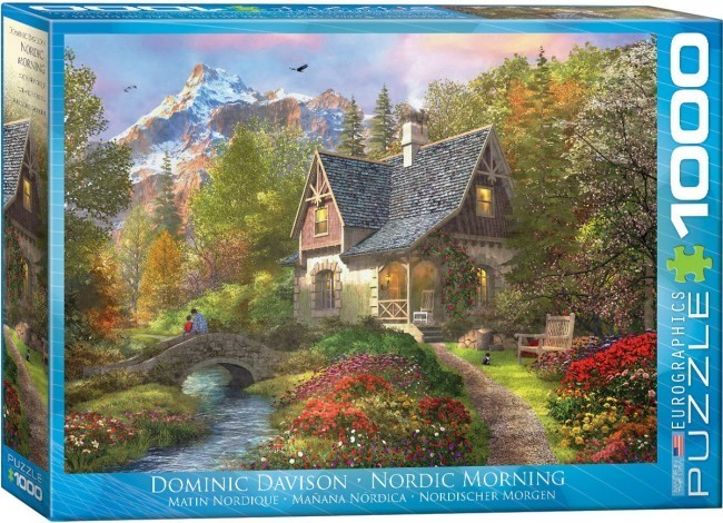 Nordic Morning - 1000pc jigsaw puzzle