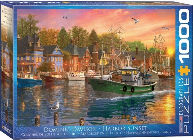 Harbour Sunset - 1000pc jigsaw puzzle