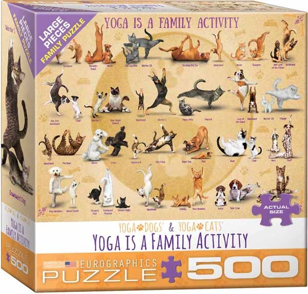 Yoga Spa 500XLpc Jigsaw Puzzle from