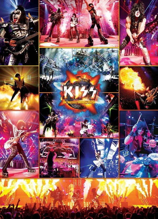 KISS - The Hottest Show on Earth - 1000pc jigsaw puzzle