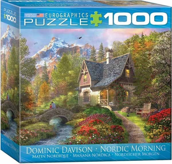 Nordic Morning - 1000pc - Spacesaver Box jigsaw puzzle