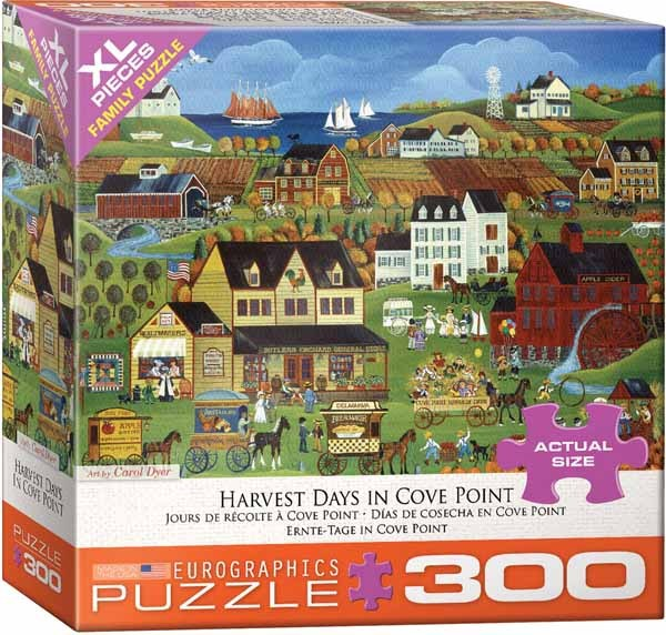 Carol Dryer - Harvest Days in Cove Point - 300XLpc jigsaw puzzle