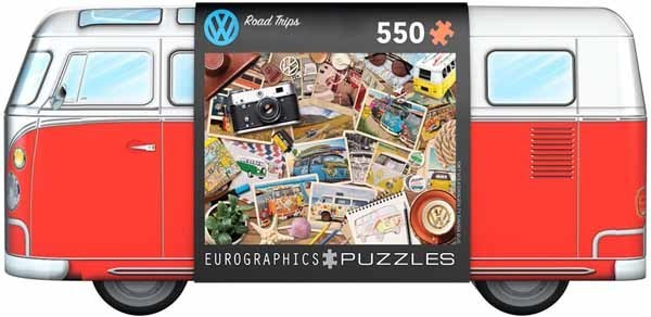 VW Tin - Road Trips - 550pc jigsaw puzzle