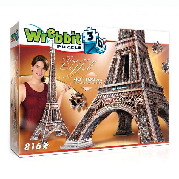 Eiffel Tower - Puzz3D jigsaw puzzle