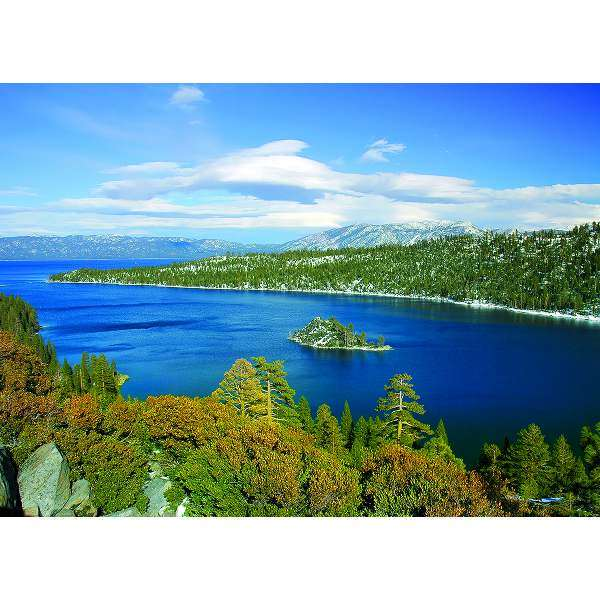 Emerald Bay - Lake Tahoe, CA jigsaw puzzle